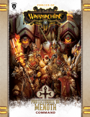 Forces of Warmachine: Protectorate of Menoth Command Book Soft Cover